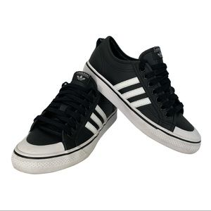 Men's Adidas Nizza Lace-Up Sneakers